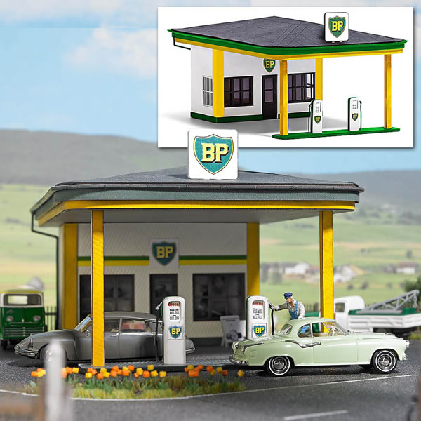Busch 1577 - Classic BP Gas Station