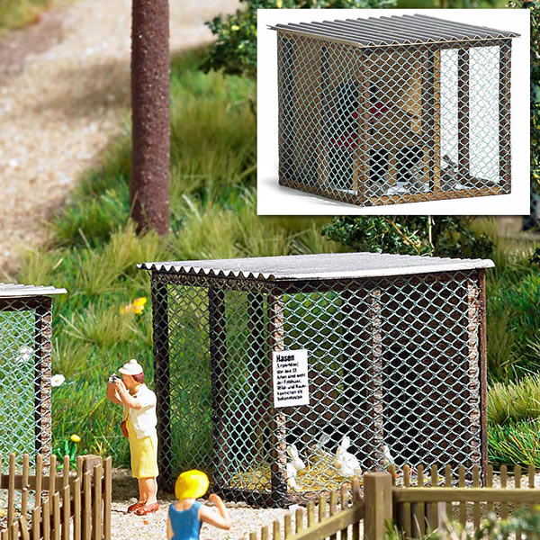 Busch 1582 - Small Animal Cage