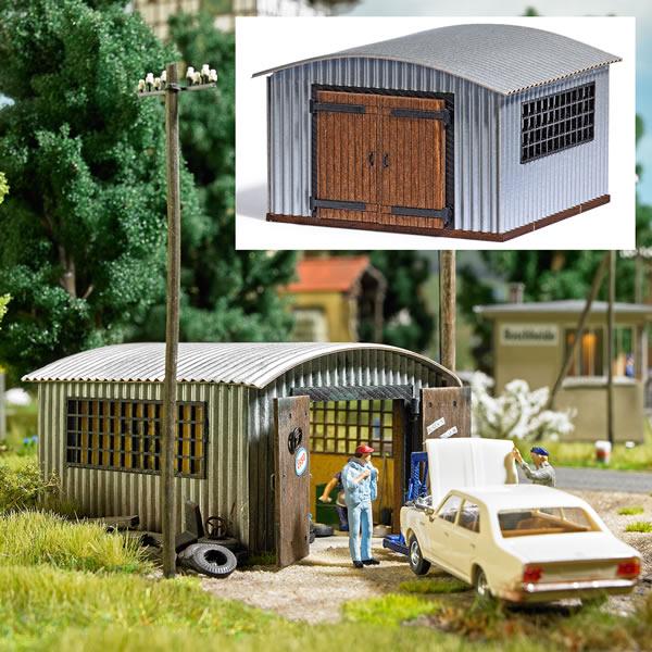Busch 1593 - Corrugated Metal Hut