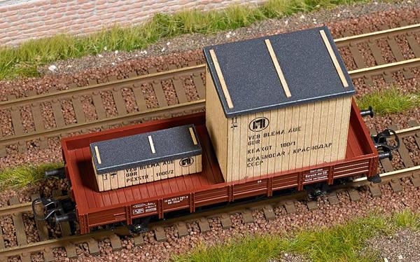 Busch 1684 - Freight Material: GDR Wooden Crates