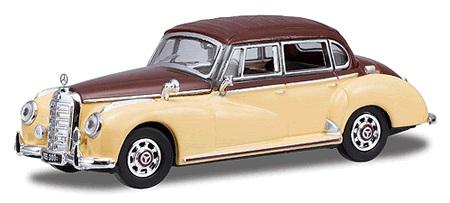 Busch 38477 1955 mercedes benz 300c limousine gold for Gold mercedes benz price