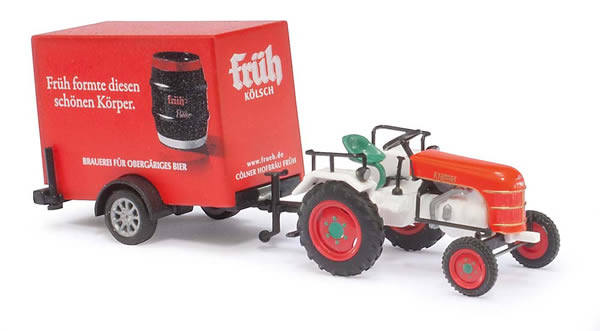 Busch 40063 - Tractor w/Trailer Fruh