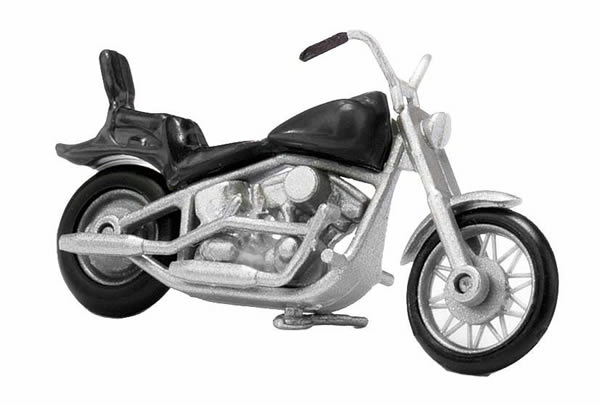 Busch 40151 - American motorcycle, black