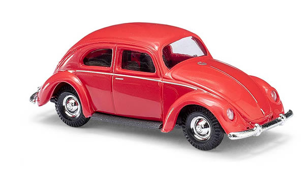 Busch 42710 - VW Beetle with oval window 1951, red