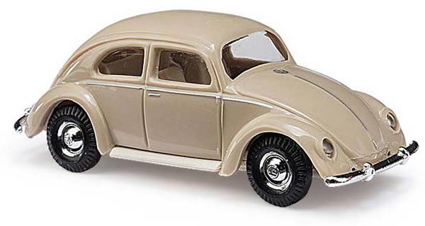 Busch 42713 - VW Beetle with oval window 1951, Beige
