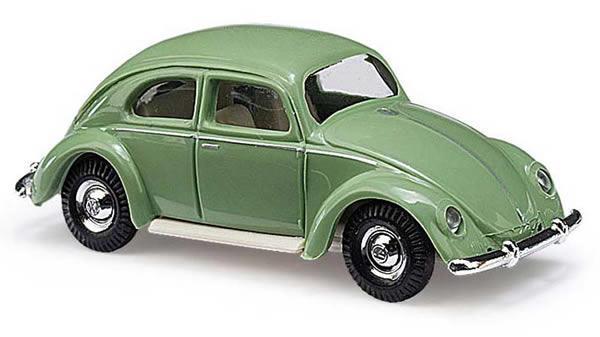 Busch 42714 - VW Beetle with oval window 1951, green