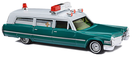 Busch 42912 - Cadillac StnWgn Ambulance