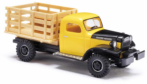 Busch 44019 - Dodge Power Wagon Transporter with crates