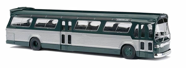 Busch 44500 - American bus Fishbowl, green