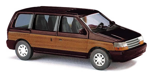 Busch 44624 - Plymouth Voyager »Woody«, Braun
