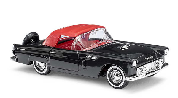 Busch 45238 - Ford Thunderbird Cabrio closed, black