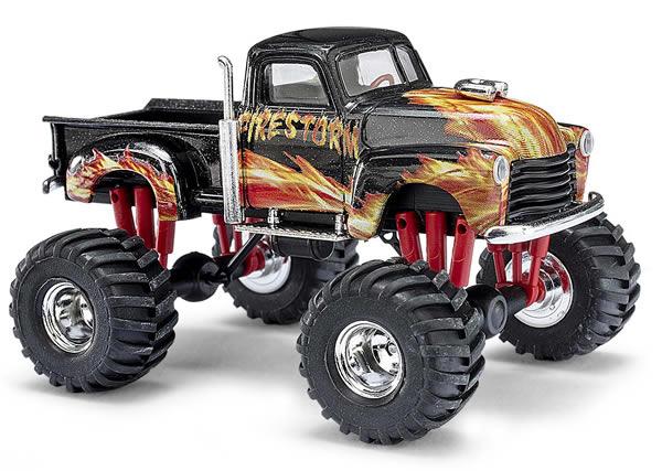 Busch 48292 - Chevr. Pick-up monster truck Firestorm