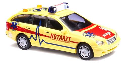 Busch 49173 - MB C Class T Notarzt