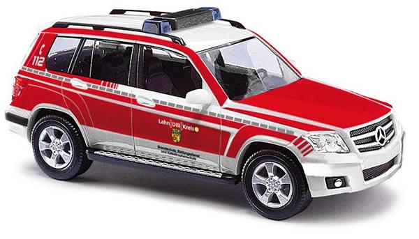 Busch 49767 - Mercedes GLK, rescue service Lahn / Dill