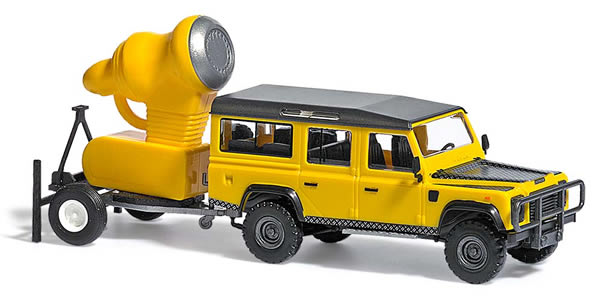 Busch 50355 - Land Rover Defender with snow cannon
