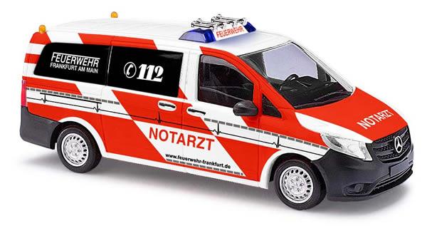 Busch 51118 - Mercedes-Vito, emergency surgeon Feuerw. Frankfurt