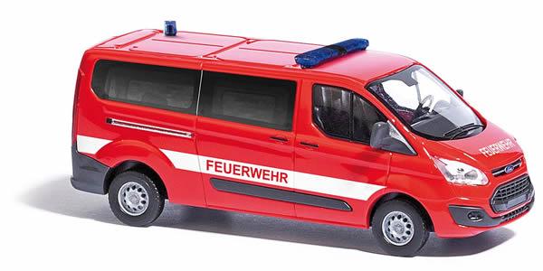 Busch 52420 - Ford Transit Custom, Feuerwehr