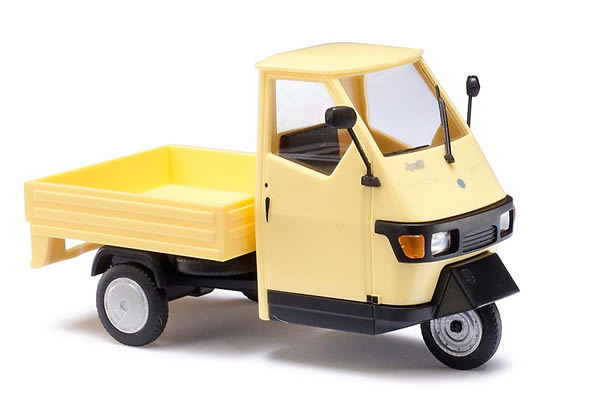 Busch 60003 - Piaggio Ape 50, Yellow M 1:43