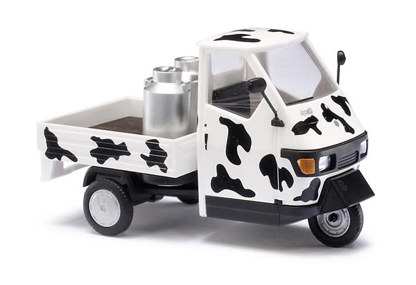 Busch 60004 - Piaggio Ape 50 with cow patches 1:43