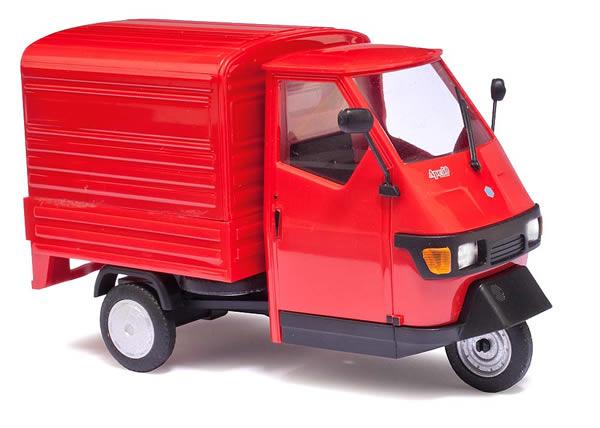 Busch 60052 - Piaggio Ape 50, Red M 1:43