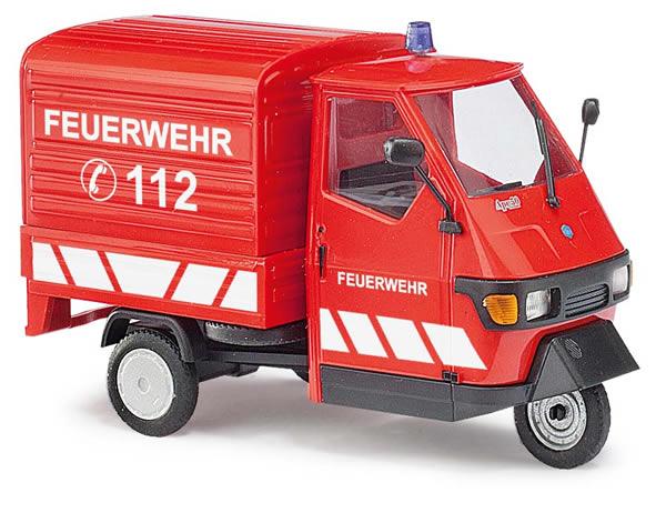 Busch 60055 - Piaggio Ape 50 »Fire Department« 1:43