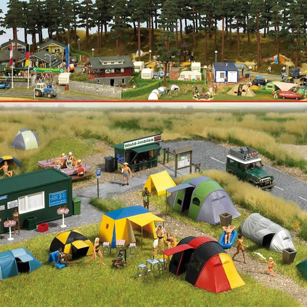 Busch 6044 - Campground Scene