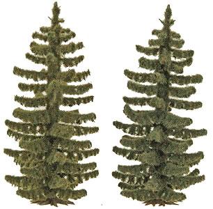 Busch 6132 - 2 Spruce Trees