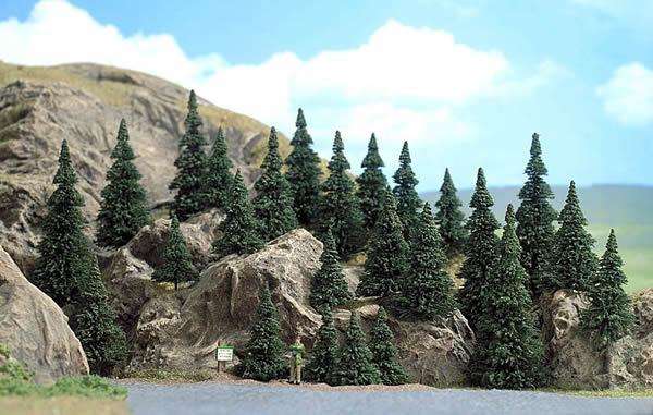 Busch 6469 - 25 Pine trees