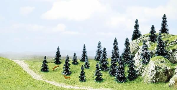 Busch 6598 - 20 pine trees
