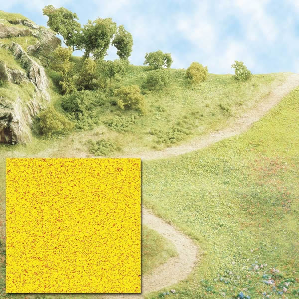 Busch 7054 - Scatter material - Yellow