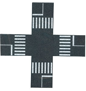 Busch 7075 - Pedestrian crossings