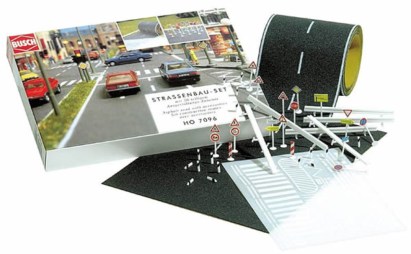 Busch 7097 - Complete sets for road construction