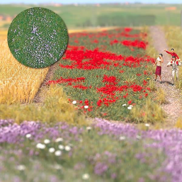 Busch 7186 - Grass mat Thistle Field