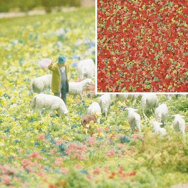 Busch 7357 - Foam Flock - Summer Flowers