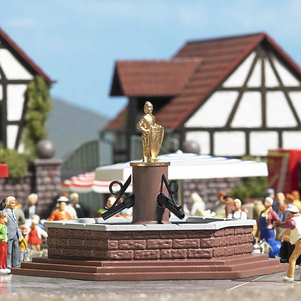 Busch 7728 - Mini world - Marketplace Fountain