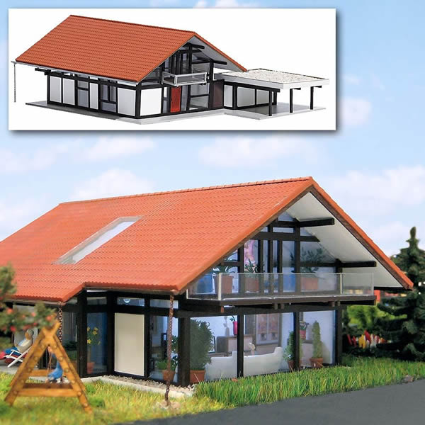 Busch 8246 - Modern House with Carport