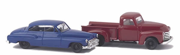 Busch 8320 - Chevrolet Pick-up and Buick '50