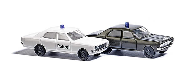 Busch 8333 - Opel Rekord Police & Military Police
