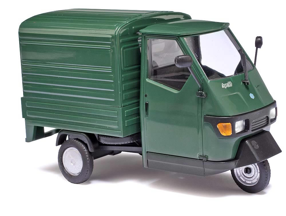 busch 60051 piaggio ape 50 green m 1 43. Black Bedroom Furniture Sets. Home Design Ideas