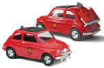 Fiat 500 Fire brigade Holland