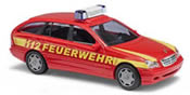 Mercedes C-Class T-model, fire department