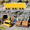 3 Tipper Wagons
