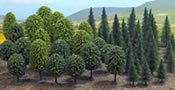 Mixed Forest with 50 Trees