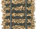 Ground cork imitation