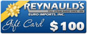 REI $100 Dollar Gift Certificate