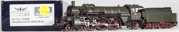 Consignment 104000 - Liliput 104000 German Express Steam Locomotive BR 18.3 of the BadStB