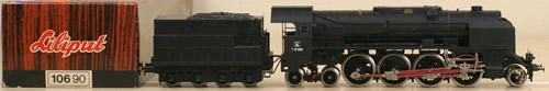 Consignment 10690 - Liliput 10690 Steam Locomotive 214, CCCP