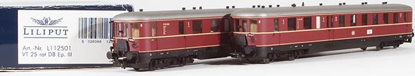 Consignment 112501 - Liliput 112501 VT 25 Diesel Railcar