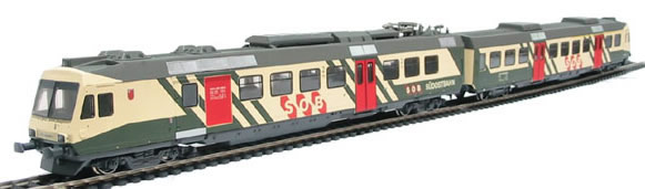 Consignment 114424 - Liliput 114424 Swiss Electric Commuter Train, SOUTHEAST RAIL of the SOB