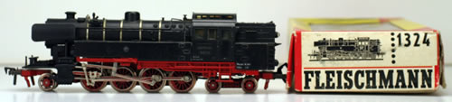 Consignment 1324 - Fleischmann 1324 Steam Locomotive Class 65 of the DB